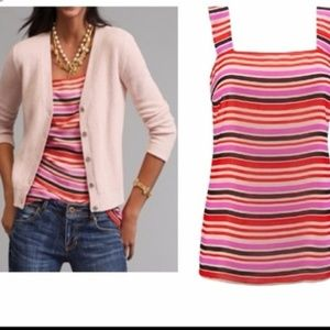 CAbi banded striped cami style # 3448